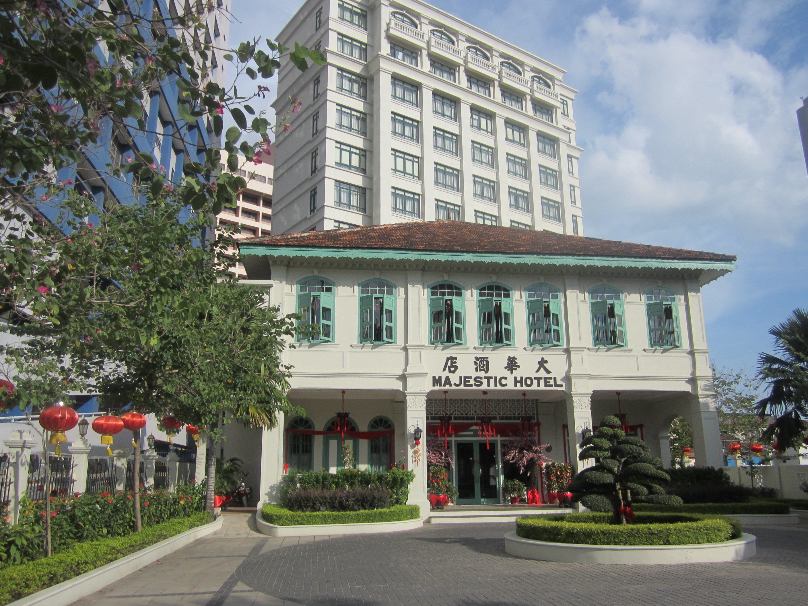 Happy chinese new year majestic hotel malacca malaysia for Classic house kl