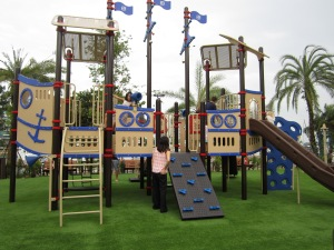 Large children's playground