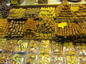 Turkish Delight, with honey or sugar, different prices