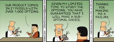 Image result for options and choices in cartoon
